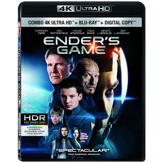 Ender's Game - 4K UHD Blu-ray