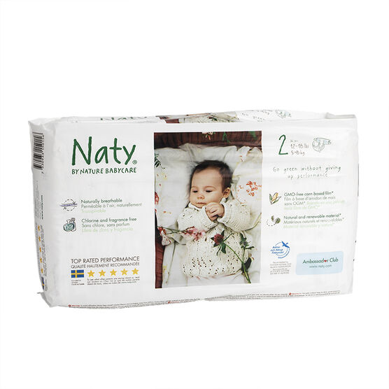 Nature Babycare Diapers - Size 2 - 36's