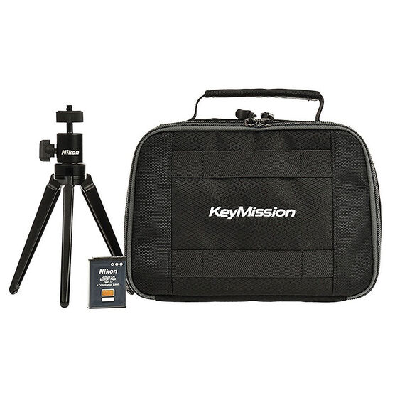 Nikon KeyMission Starter Kit - Black