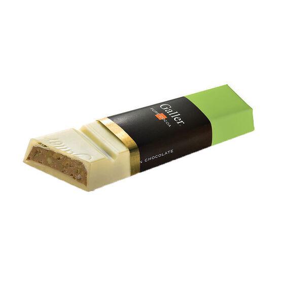 Galler White Chocolate Pistachio Bar - 65g