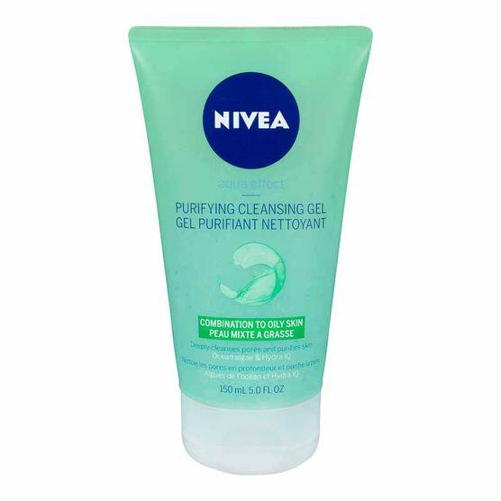 Nivea Aqua Effect Purifying Cleansing Gel - 150ml