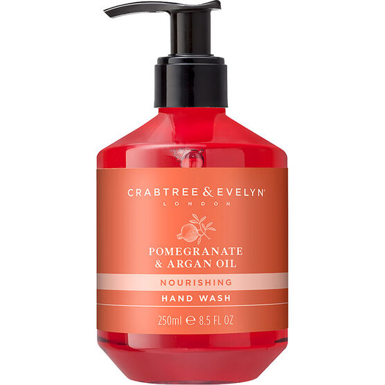 Crabtree & Evelyn Pomegranate & Argan Oil Nourishing Hand Wash - 250ml