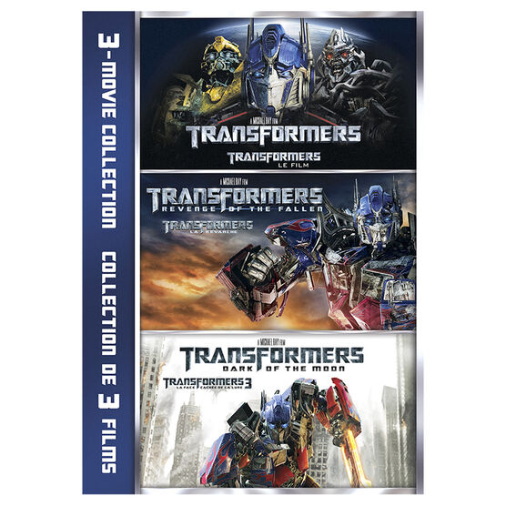 Transformers 3-Movie Collection - DVD