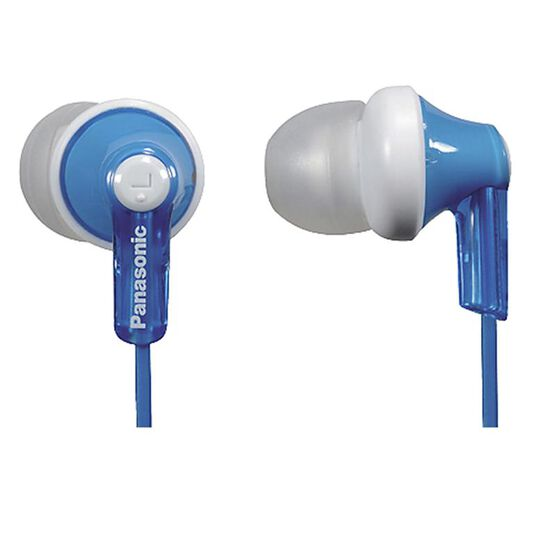 Panasonic Ergo Fit Eardrops Headphones - Blue - RPHJE120A