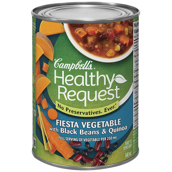 Campbell's Healthy Request Soup - Fiesta Vegetable - 540ml