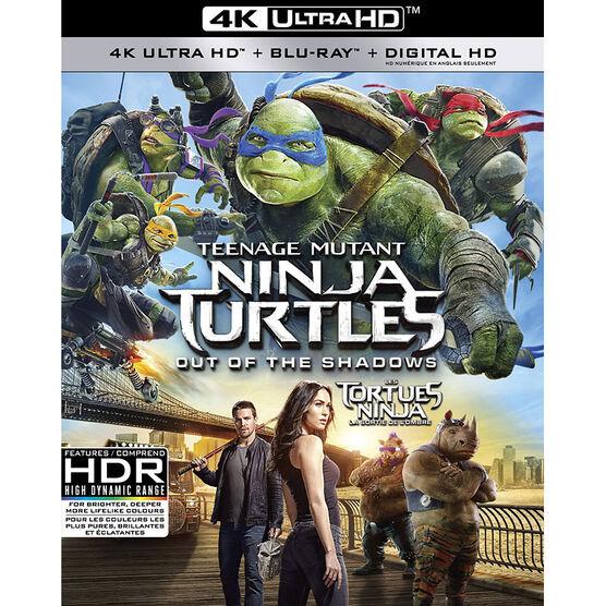 Teenage Mutant Ninja Turtles: Out Of The Shadows - 4K UHD Blu-ray