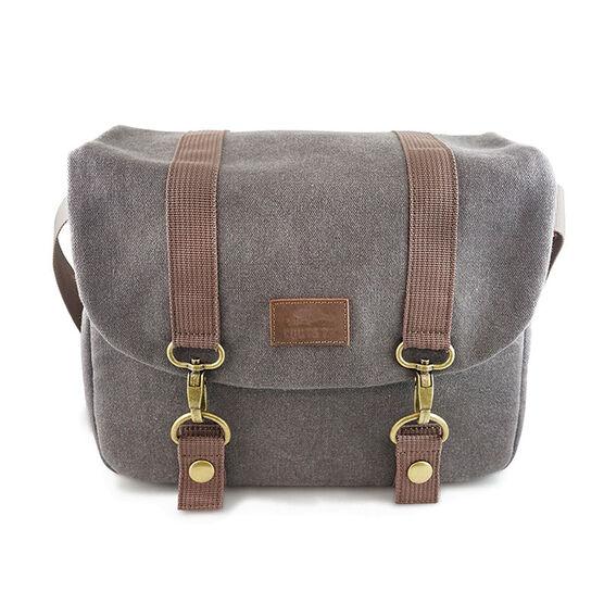 Roots73 RG20 Flannel Messenger Bag - Grey - RG20
