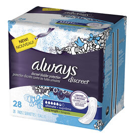 Always Discreet Pads Ultimate Long Length - 28's