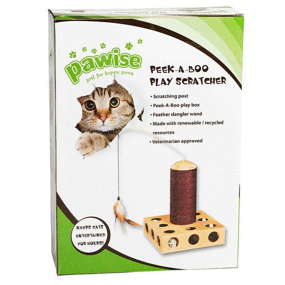 Peek-A-Boo Cat Scratcher