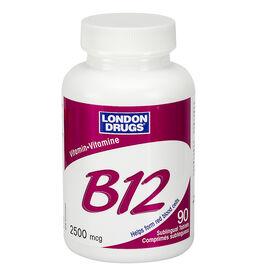 London Drugs Vitamin B12 - 2500mcg  - 90's