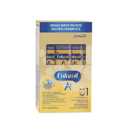 Enfamil A+ Single Serve Packets Iron Fortified Infant Formula Step 1 - 16 x 17.6g