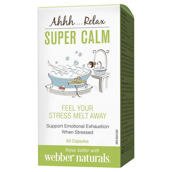 Webber Naturals Super Calm - 60's
