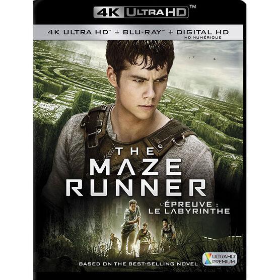 The Maze Runner - 4K UHD Blu-ray