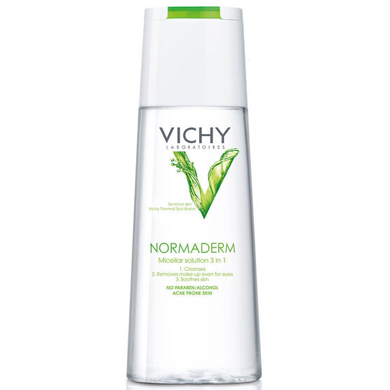 Vichy Normaderm Micellar Solution for Face & Eyes - 200ml