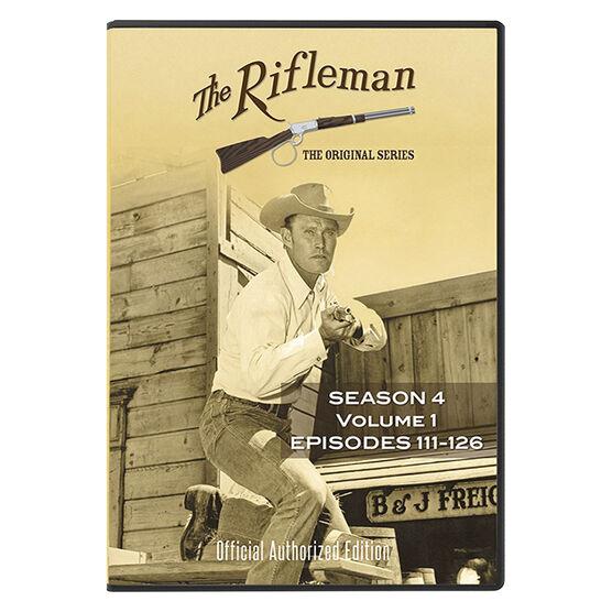 The Rifleman: Season 4 Volume 1 - DVD