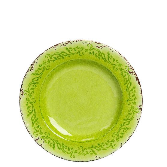 London Drugs It's Melamine Side Plate - Green - 8.5inch