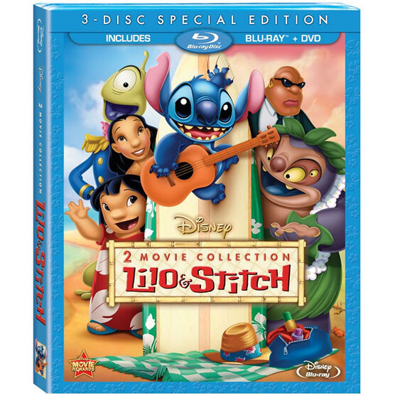 Lilo and Stitch 2-Movie Collection - Blu-ray + DVD