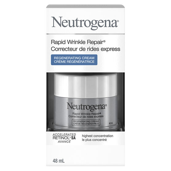 Neutrogena Rapid Wrinkle Repair Regenerating Cream - 48ml