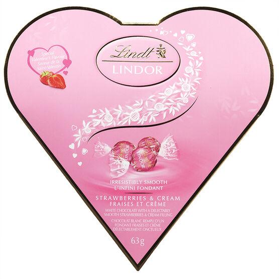 Lindor Friend Heart - Strawberry - 60g