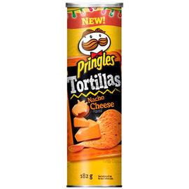 Pringles Tortillas Chips - Nacho - 182g