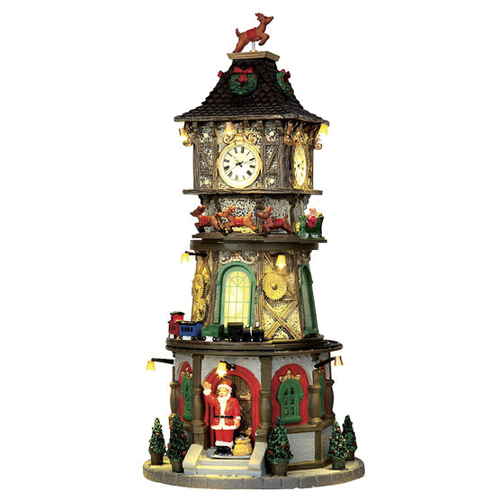 Lemax Christmas Clock Tower - 4.5V Adaptor