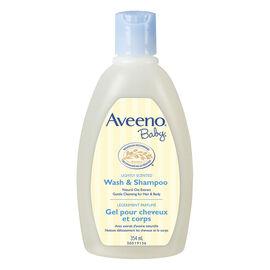 Aveeno Baby Wash & Shampoo - 354ml