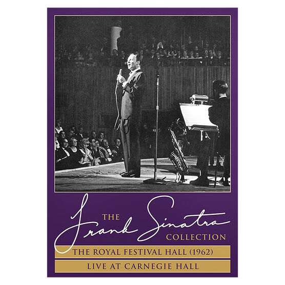The Frank Sinatra Collection: The Royal Festival Hall (1962) + Live at Carnegie Hall - DVD