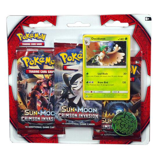 Pokemon Sun & Moon 4 Blister Pack - 3 packs - Assorted