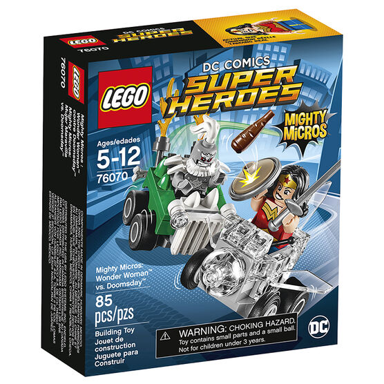 Lego Super Heroes Mighty Micros: Wonder Woman vs. Doomsday - 76070