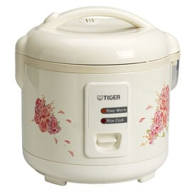 Tiger Electric Rice Cooker/Steamer 5.5 Cup - White - JAZ-A10U