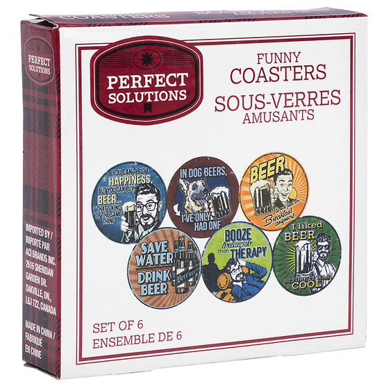 Perfect Solutions Coasters - 6 piece - ST9689LD17