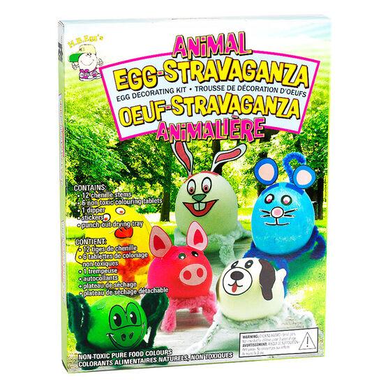 Easter Animal Egg Decorating Kit