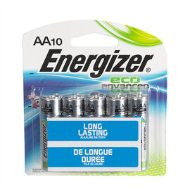 Energizer Eco Advantage Battery - AA/10 pack