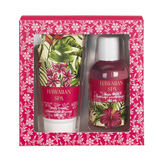 Hawaiian Spa Body Gift Set - 2 piece