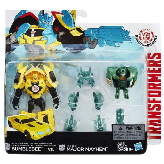 Transformers Robots In Disguise Mini-Con Battle Case - Wave 3