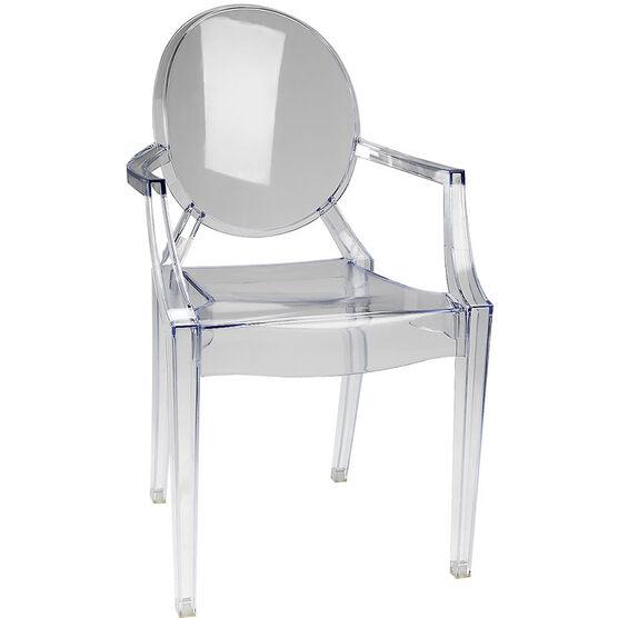 London Drugs Ghost Chair - Clear - 58 x 53 x 91.5cm