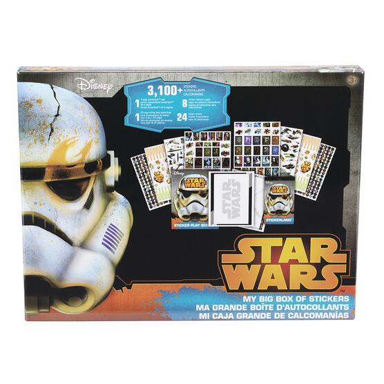 Star Wars My Big Box of Stickers