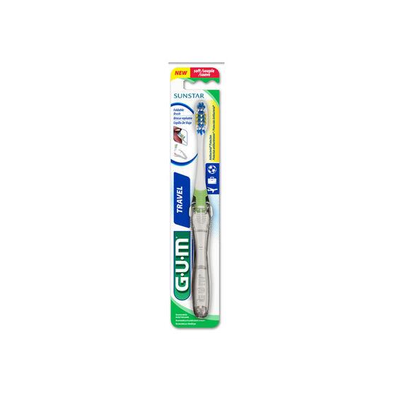 G.U.M Antibacterial Travel Toothbrush - Soft