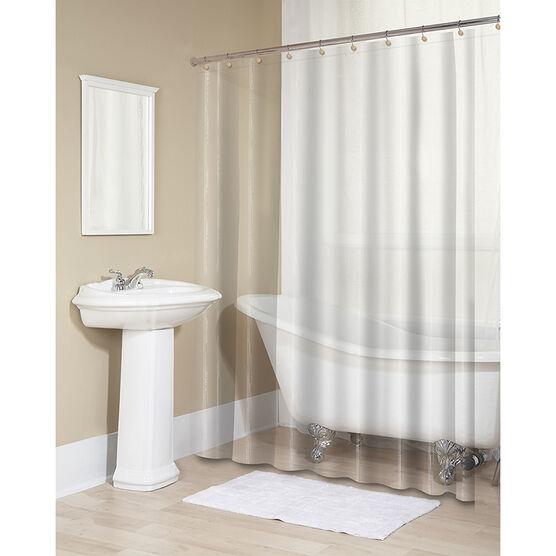 Splash Eva Shower Curtain Liner - Clear