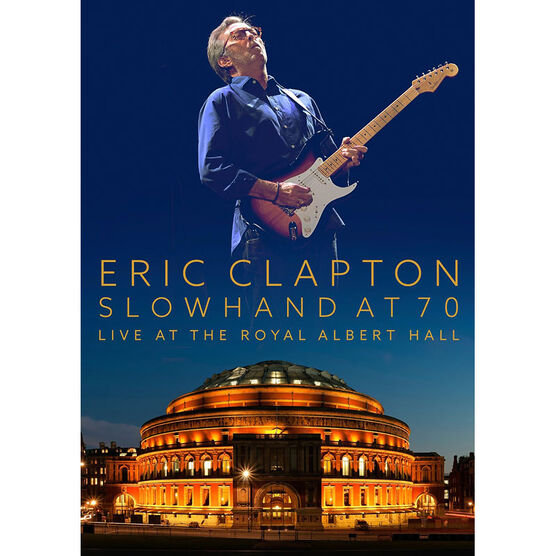 Eric Clapton: Slowhand at 70: Live at the Royal Albert Hall - DVD + CD