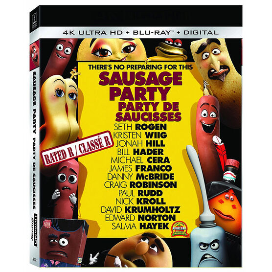 Sausage Party - 4K UHD Blu-ray