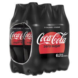 Coca Cola Zero - 6 x 710ml