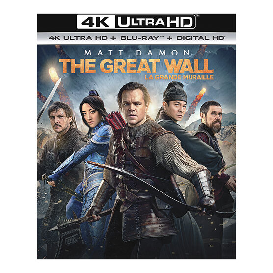 The Great Wall - 4K UHD Blu-ray