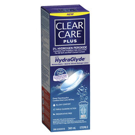 Clear Care Plus Cleaning and Disinfecting Solution - 360ml