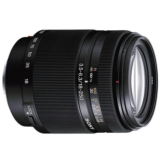 Sony 18-250mm f/3.5-6.3 DT Lens - SAL18250 - Open Box Display Model