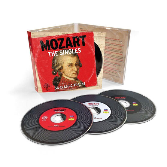 Mozart - The Hit Singles - 3 CD