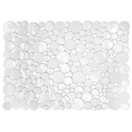 InterDesign Bubble Sink Mat - Clear - Large
