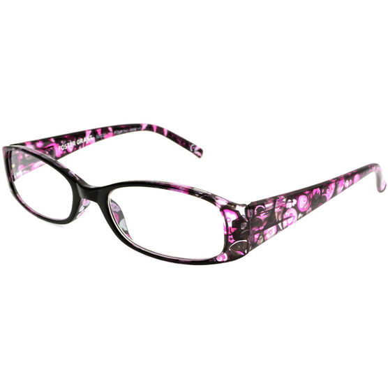 Foster Grant Daydreamer Reading Glasses with Case - 2.00