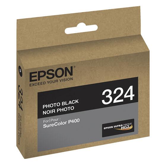 Epson UltraChrome HG2 T324120 Ink Cartridge - Photo Black