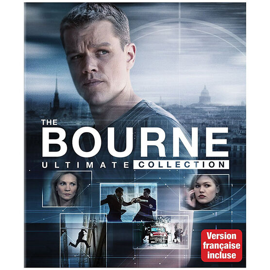 The Bourne Ultimate Collection - Blu-ray